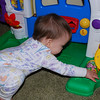 This Fisher Price Learning Home is one of her favorite toys with lots of stuff to discover.