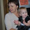 Shiloh's Aunt Kris holding Lexi.