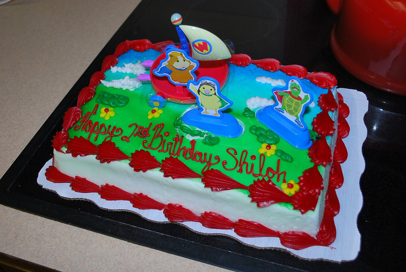 Shiloh's Wonder Pets birthday cake!