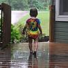 Shiloh has always loved rainy days.