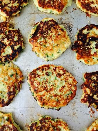 Mashed Potato, Cabbage and Mustard Pancakes