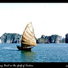 I shot this fishing sailboat while we (USS Tolovana AO-64) were supporting the evacuation of the North Vietnamese people who wished to leave to South Viet Nam before the French turned over their rule (French Indochina) to the Communists.