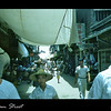 This is a side street or alley way in Tainan, Taiwan in 1954.  I was with a group of sailors on a sightseeing tour.