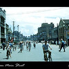 This is one of the main streets in Tainan, Taiwan in 1954.  I was with a bunch of sailors out touring from our ship (USS Tolovana AO-64) which was moored in Kaohsiung harbor..