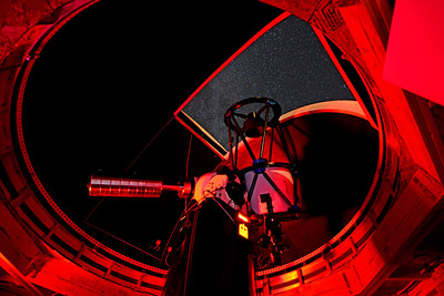 Dr. Edlin's telescope and Observatory in Idaho