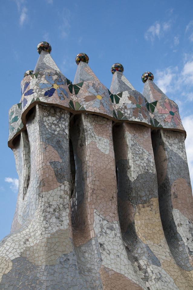 Rooftop Gaudi