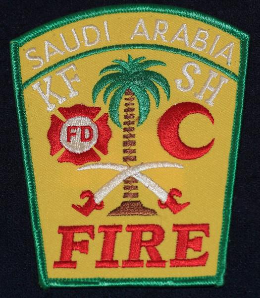 Saudi Arabia - US Managed Oil Facility Fire Dept. Patch