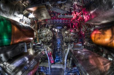 """Torpedo Room of  USS Lionfish Submarine"" Fall River, MA February 6th, 2011"