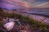 """""""Pink & Purple Far Left of Sunset""""<br /> Gooseberry Island<br /> Westport, MA<br /> May 19th, 2012"""