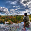 """""""Chillin' at the Top of The Ledge""""<br /> October 14th, 2010<br /> <br /> On top of The Assonet Ledge<br /> Freetown State Forest, MA"""