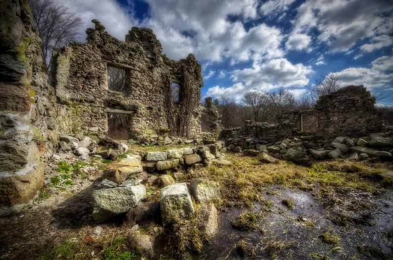 """Dreamy Ruins""<br /> Acushnet, MA<br /> February 25th, 2012"