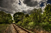 """""""Track Lines""""<br /> May 11th, 2012<br /> Wareham, MA"""