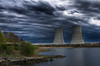 """Brayton Point Twin Towers""<br /> The Brayton Power Station Water Cooling Towers<br /> Somerset, MA<br /> April 30th, 2011"