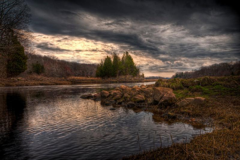 The Slocum River<br /> Dartmouth, MA<br /> April 6th, 2010
