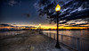 """""""A New Bedford Twilight""""<br /> January 2nd, 2012<br /> Fort Taber"""