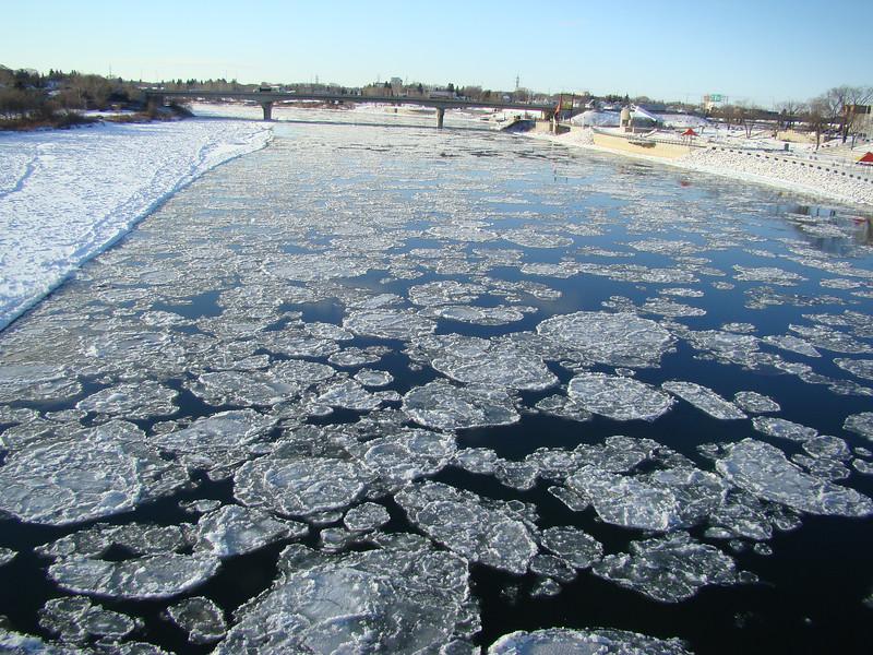 Saskatoon River Ice-6