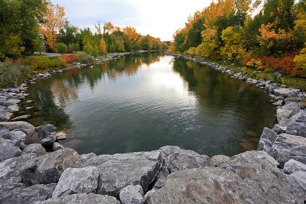 Calgary Prince's Island Park Fall 2010