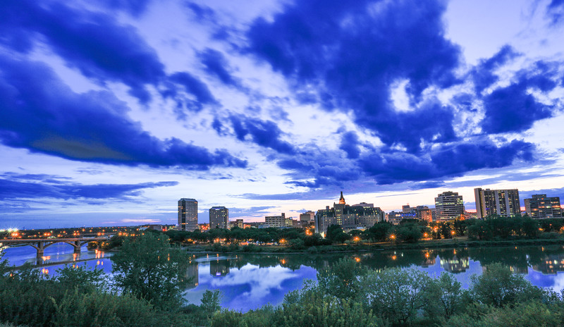 Saskatoon Summer Skyline-6