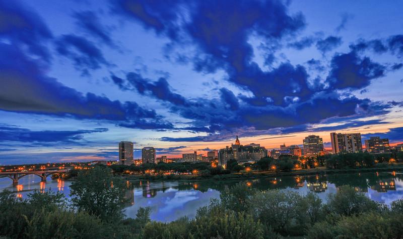 Saskatoon Summer Skyline-7