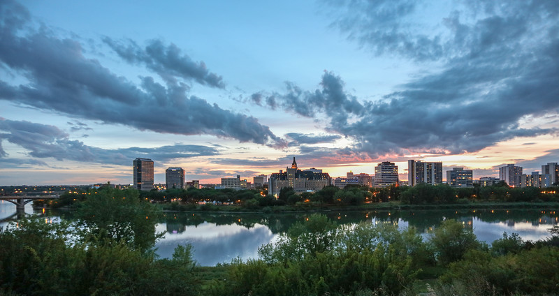 Saskatoon Summer Skyline-1