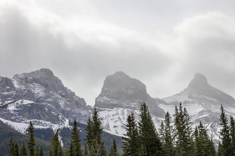 Three Sisters Peaks & Canmore, AB-7