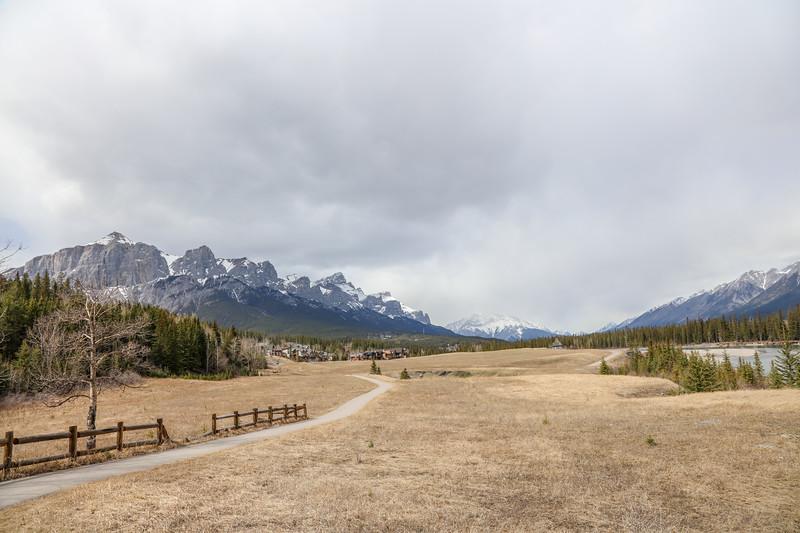 Three Sisters Peaks & Canmore, AB-12