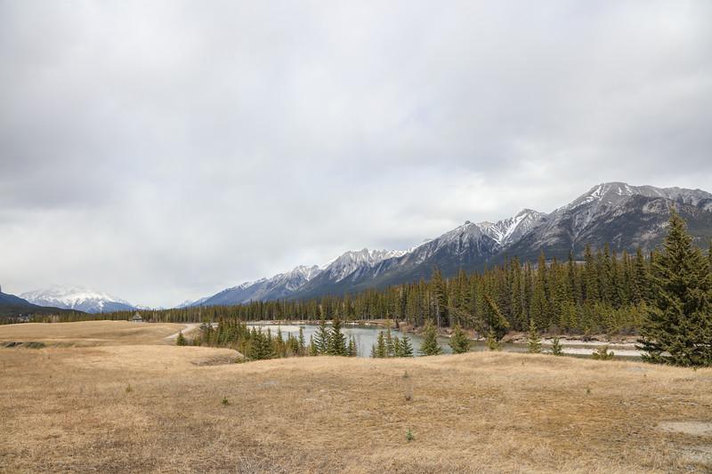 Three Sisters Peaks & Canmore, AB-14