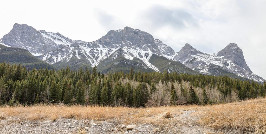 Three Sisters Peaks & Canmore, AB-24