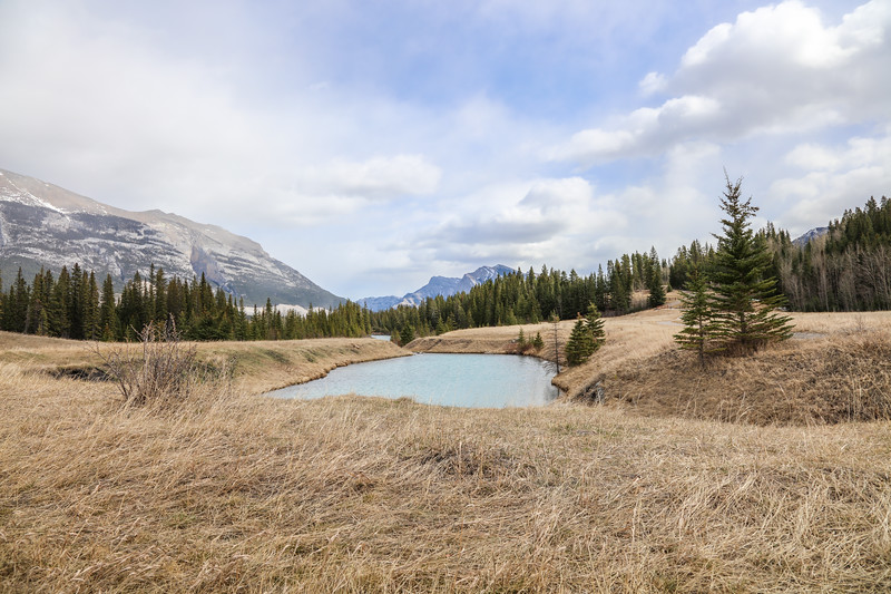 Three Sisters Peaks & Canmore, AB-15