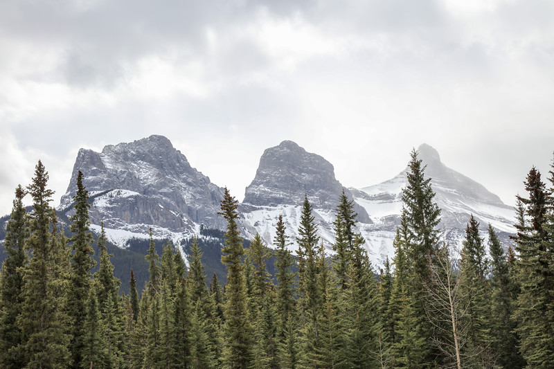 Three Sisters Peaks & Canmore, AB-9