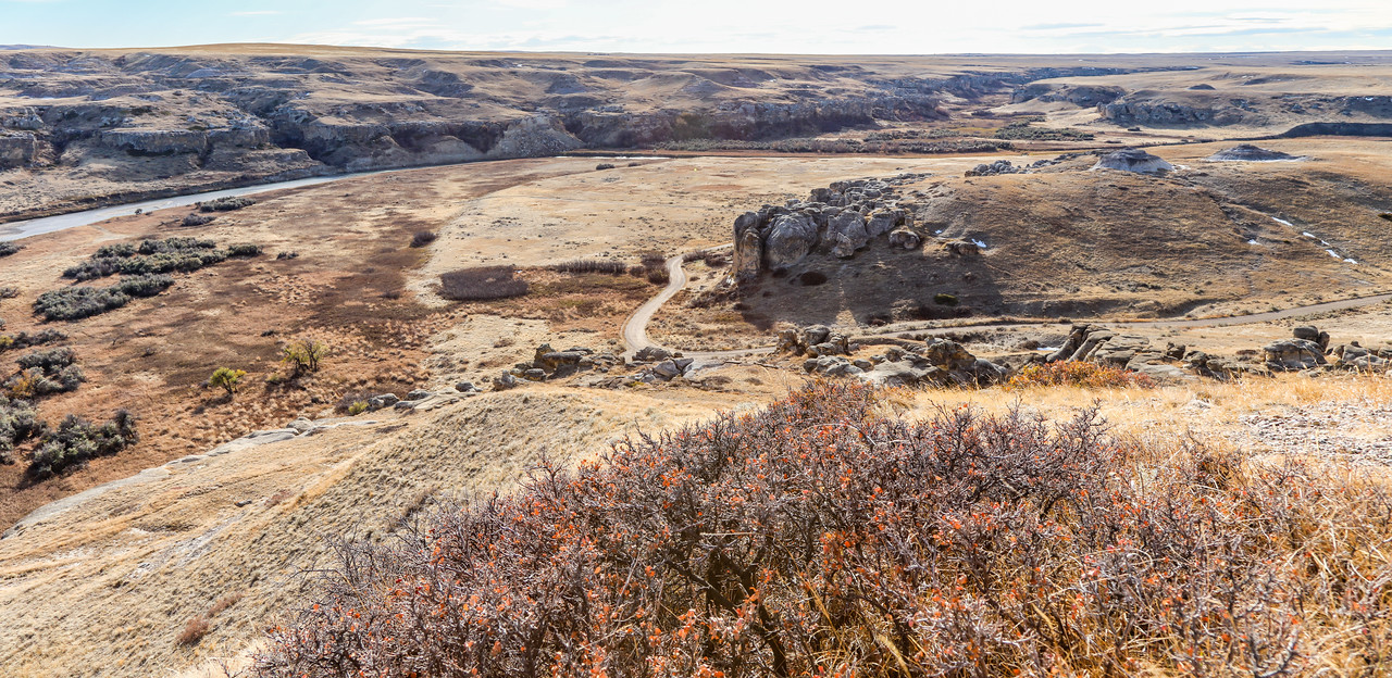 Writing on Stone Provincial Park-3