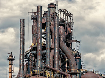 A part of the ruin of the Bethlehem Steel Stacks....how long will it last?