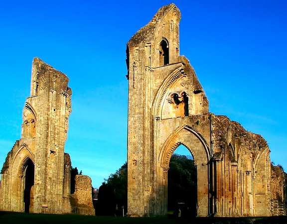 The Ruins Of The Glastonbury Abbey