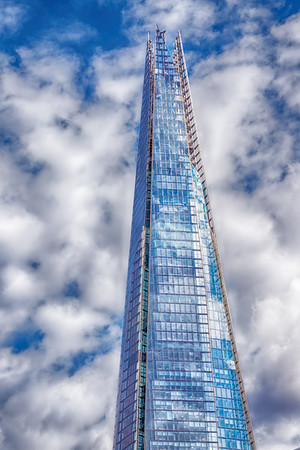 The Shard - in London, UK