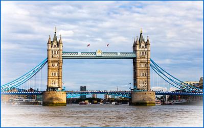 The Tower Bridge, London, UK