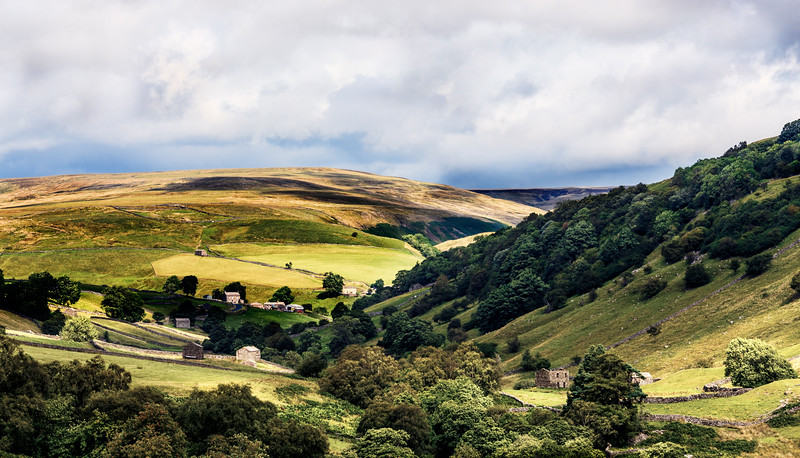 North Yorkshire at the 'head' of Swaledale - just beyond the town of Muker.