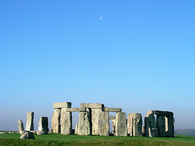 Stonehenge and Moon!