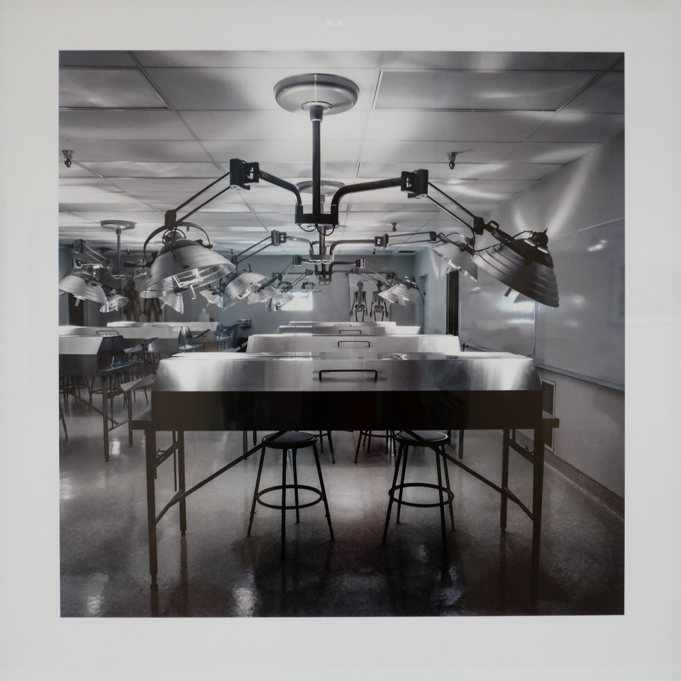 Gross Anatomy Lab, University of California Riverside, 1982