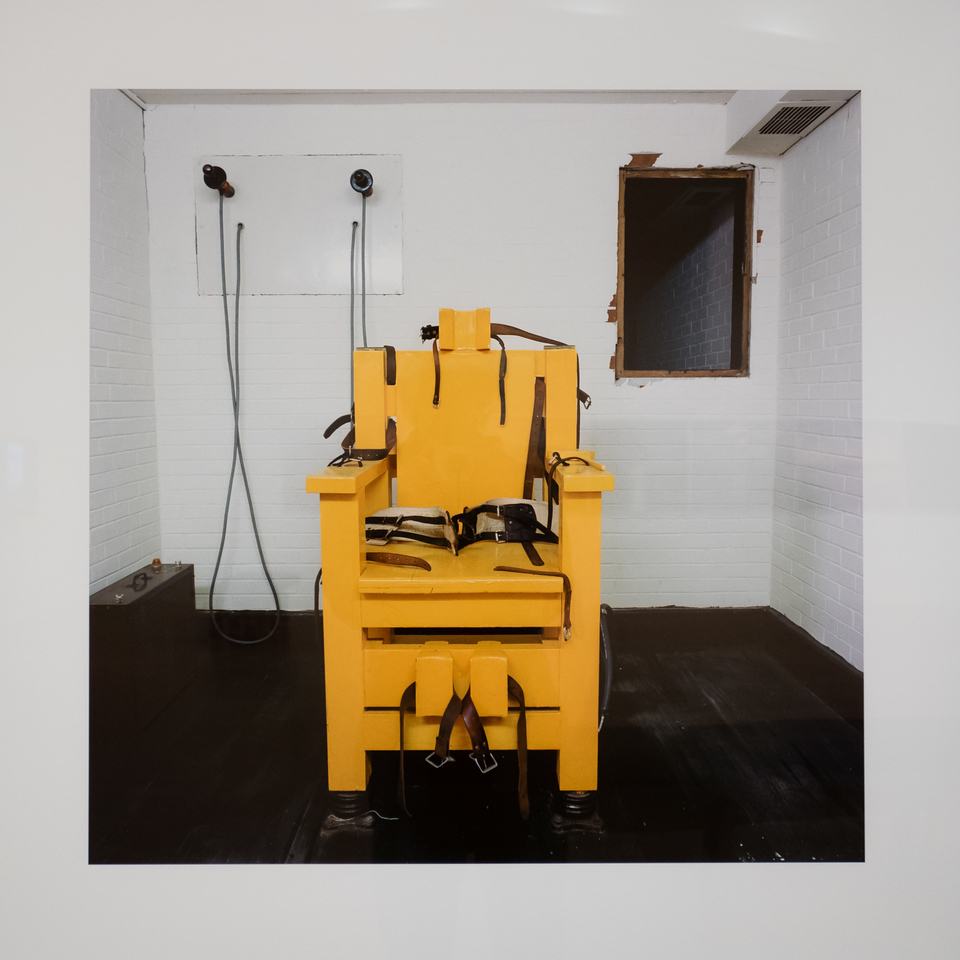 Electric Chair, Holman Unit, Atmore, AL, 1991