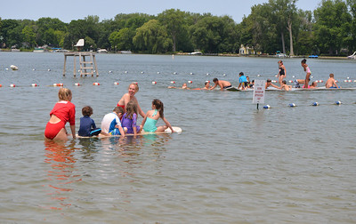 Lifeguard and Beach Staff Appreciation Week at Main and West Beaches July 20-24. Stop by and thank them for a job well done!  Photographer's Name: Jenny Leech Photographer's City and State: Crystal Lake, IL