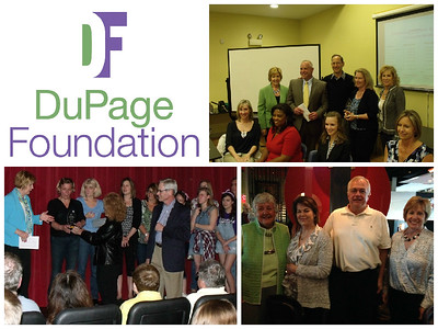 The 2015 DuPage Foundation Spirit of Volunteerism Award winners are (clockwise from top):Family Shelter Service, Naperville CARES and Fair Lady Productions.  For more information about the awards, visit dupagefoundation.org.  Photographer's Name: Joelyn Kundrot Photographer's City and State: Wheaton, IL