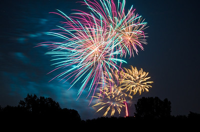 Crystal Lake fireworks 2013  Photographer's Name: Cameron Nixon Photographer's City and State: Crystal Lake, IL
