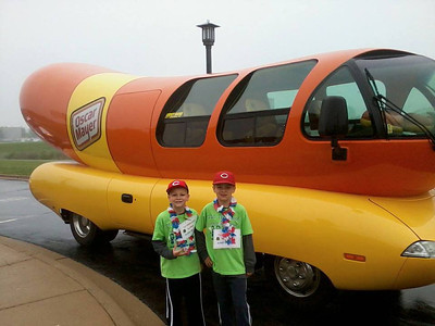The Wienermobile was in Huntley Memorial Day Parade!  Photographer's Name: Norm Fossmeyer Photographer's City and State: Huntley, IL