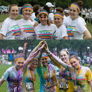 "The Color Run 2015, Chicago. ""Lets add some color to our Life""  Photographer's Name: Jeff Gathman Photographer's City and State: Lake in the Hills, IL"