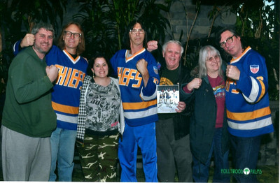 Fistbumping with the Hanson Brothers  Photographer's Name: Dave Quinn Photographer's City and State: McHenry, IL