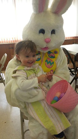 Ire and the bunny!  Photographer's Name: Sue Ewing Photographer's City and State: Crystal lake, IL