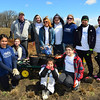Volunteers from ComEd and its parent company Exelon assisted students from the Illinois Math & Science Academy in planting 400 to 500 oak trees as part of Arbor Day festivities on Saturday, April 20, at the Fitchie Creek Forest Preserve, located in Elgin.  <br /> <br /> Photographer's Name: Anthony Marusic<br /> Photographer's City and State: Chicago, IL