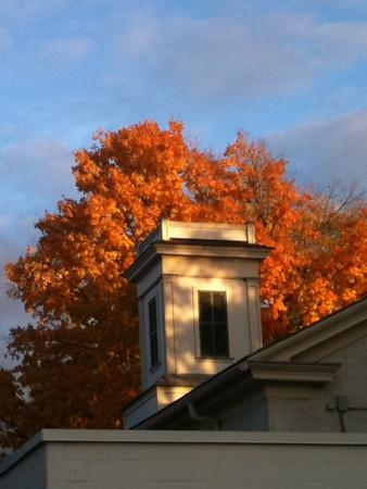 Fall Sunset in Geneva<br /> <br /> Photographer's Name: Marja Neylon<br /> Photographer's City and State: Geneva, IL