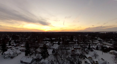 Sun set over Crystal Lake  Photographer's Name: Aaron Wiedenfeld Photographer's City and State: Crystal Lake, IL