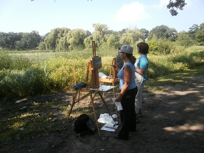 Painting in the Open Air, Veterans Park  Photographer's Name: Margie  Sychowski Photographer's City and State: Woodstock, IL